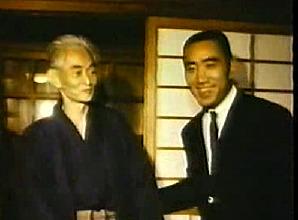 [Kawabata/Mishima image]